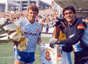 Manchester United 1990-92 udebanetrøje