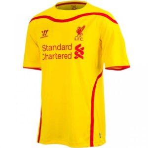 Liverpool udebanetrøje 2014/15
