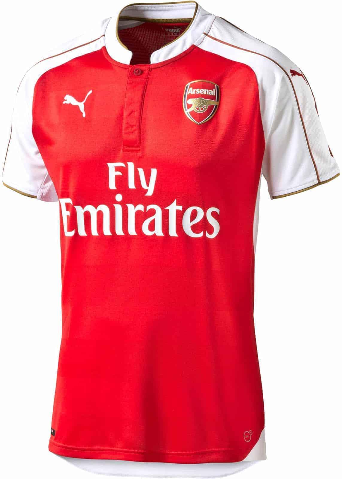 Arsenal hjemmebanetrøje 2015-16
