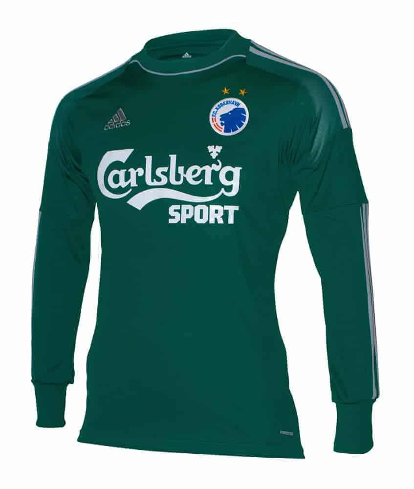 FCK Målmandstrøje Grøn
