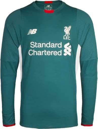 Liverpool målmandstrøje grøn 2015-16